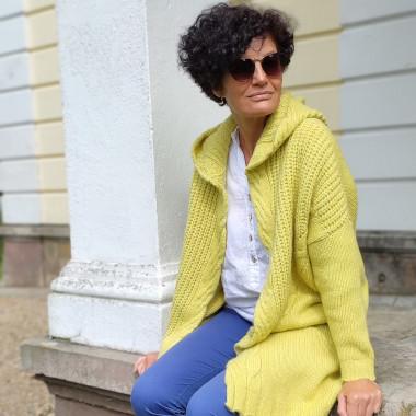 Choice - zółty sweter